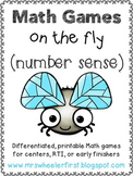 First Grade Number Sense Math Games