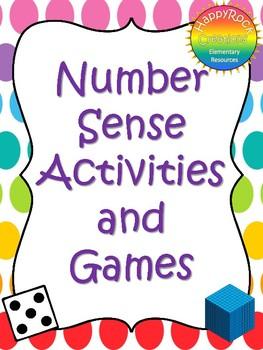 Number Sense Math Games & Activities Teacher Guide