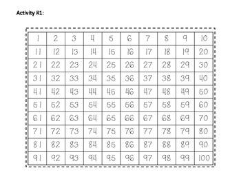 Number Sense Math Journal Activities