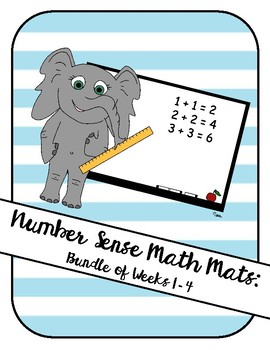 Number Sense Math Mat 1 Month Bundle!