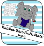 Number Sense Math Mat Week 2