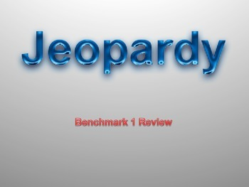 Number Sense Math Review JEOPARDY