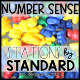 Number Sense Math Stations Second Grade