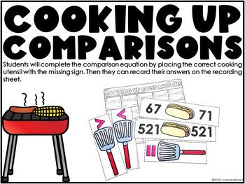 Number Sense Math Stations Second Grade