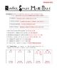Number Sense Math Test and Key