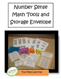Number Sense Math Tools Envelope for Common Core