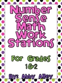 Number Sense Math Work Stations