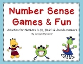 Number Sense Math {centers and games}
