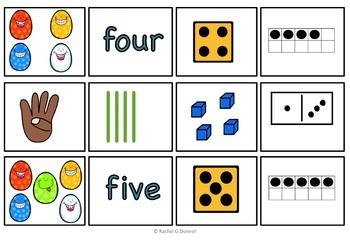 Math Center Number Sense Mats