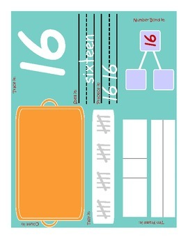 Number Sense Mats:  Explore Numbers from 0 to 20!