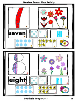 Number Sense:  May Activities