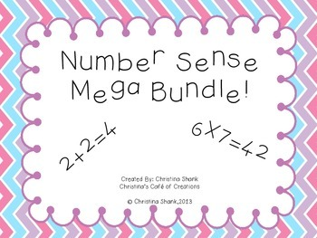 Number Sense Mega Bundle!!!!!