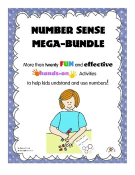 Number Sense Mega-Bundle: 20+ Activities to Help Kids Use and Understand Numbers