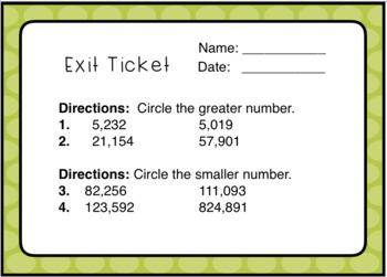 Rounding, Comparing, Place Value: Number Sense 15 Game Mega Bundle - Thousands