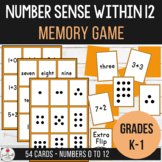 Number Sense - Memory Match Game