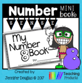 Number Sense Mini Book - Number Eight