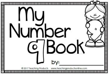 Number Sense Mini Book - Number Nine