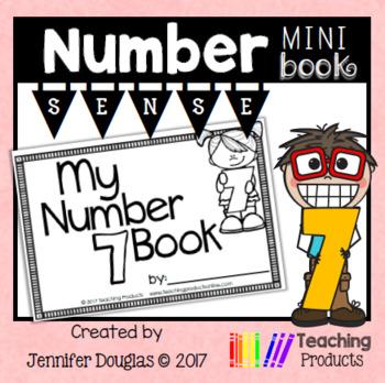 Number Sense Mini Book - Number Seven