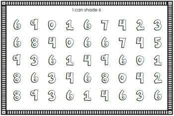 Number Sense Mini Book - Number Six