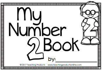 Number Sense Mini Book - Number Two