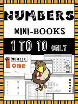 Numbers Mini-Books {Fall Theme}