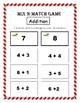 Number Sense – Mix-N-Match Game – Numbers 1 – 12 (Kindergarten Math)