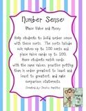 Number Sense: Money, Place Value