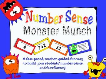 Number Sense Monster Munch Game