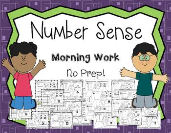 Number Sense Morning Work