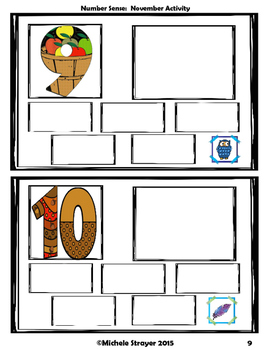 Number Sense:  November Activities