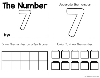 Number Books {Numbers 0 to 20}