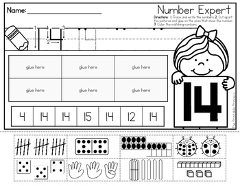 Number Recognition Sort {0-20}