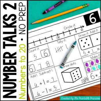 Number Talks 2: Numbers 0-20