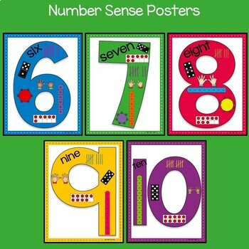 Number Sense: Numbers 6-10 For Kinders