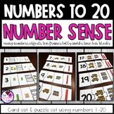 Number Sense Numbers 1-20