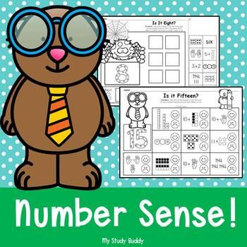 Number Sense: Numbers 1-20