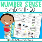 Number Sense Teen Numbers 11 to 20