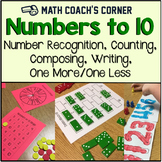 Number Sense: Numbers to 10 Activity Pack