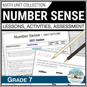 Understanding and Comparing Numbers Unit (Factors, Fractions, etc.) Grade 7