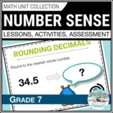 Understanding and Comparing Numbers Math Unit (Factors, Fractions, etc.) Grade 7