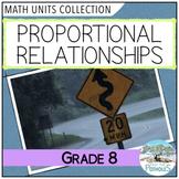 Proportions Unit  (Ratios and Rates) - Number Sense - Grade 8