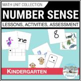Number Sense & Numeration Unit - Kindergarten FDK - Numbers, Adding, Subtracting