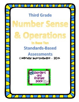 Number Sense & Operations in Base Ten Assessments/3rd Grade