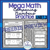 Number Sense Ordering Comparing Numbers Mega Math Practice