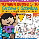 Number Sense Pack 1-10 Centers & Activities Preschool, Ear