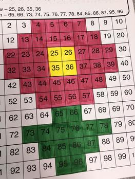 Number Sense Pink Flower Puzzle