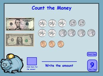 Number Sense Place Value, Compare and Order Numbers, Count Money