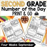 Number Sense | Place Value | Number of the Day September | Fall