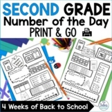 Number Sense Place Value Practice Number of the Day Back t