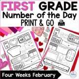 Number Sense Place Value Practice Number of the Day First